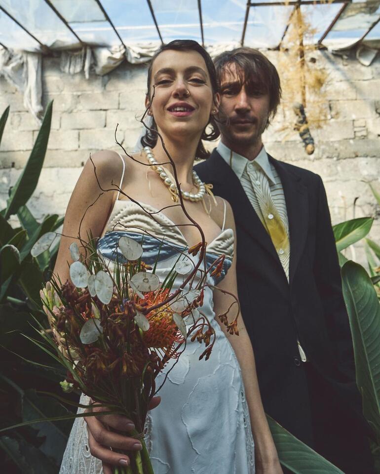 Ahmet Rıfat Şungar ve Esra Gülmen, Büyükada'da evlendi